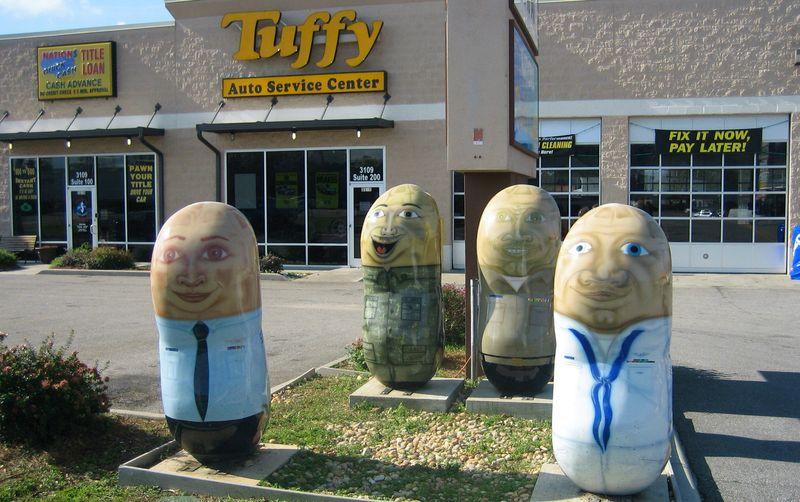 Military Nuts outside Tuffy Automotive