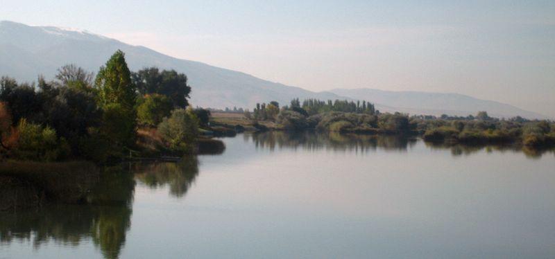 Utah lake reflection