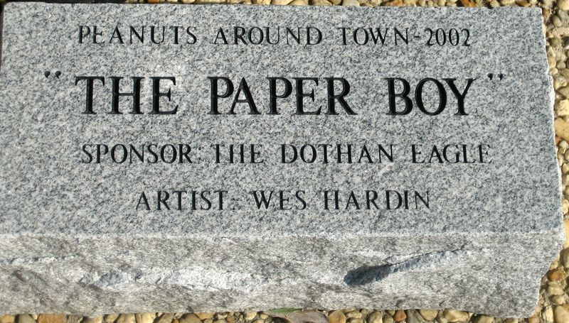 The Paper Boy Peanut