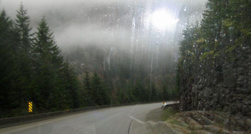 Sunny rainstorm