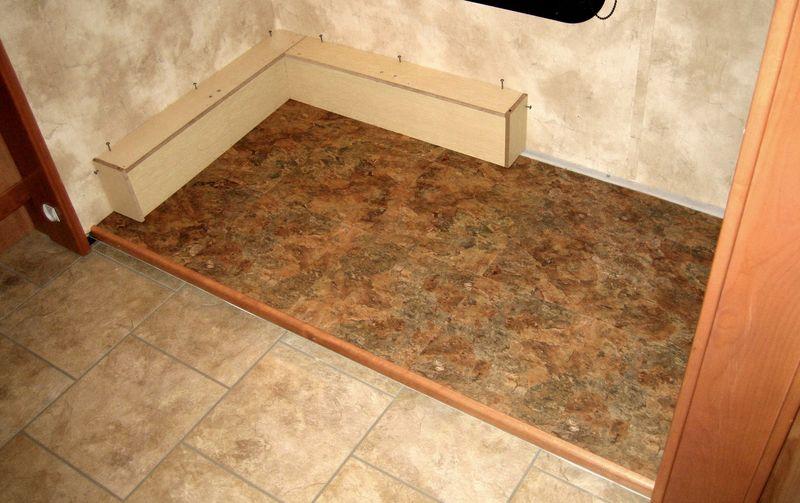 Office floor halfway done