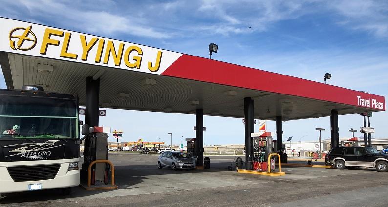 Last fuel stop