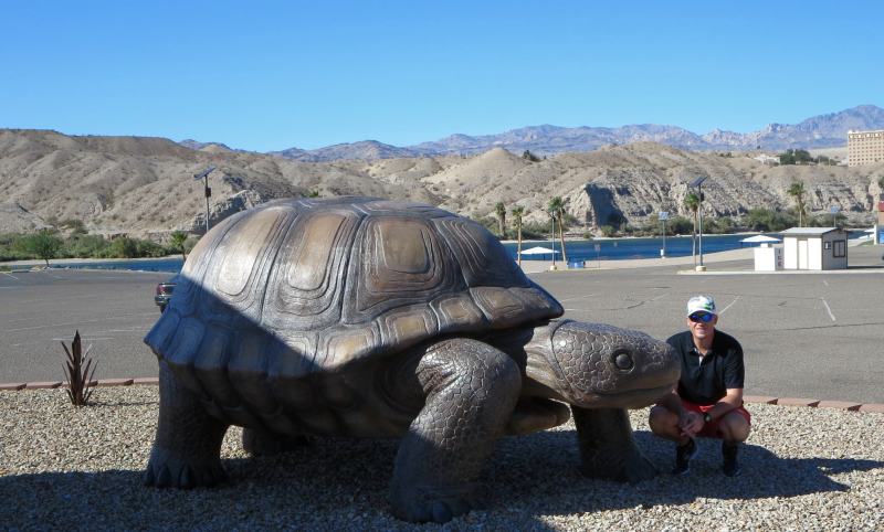 My Fella and the tortuga