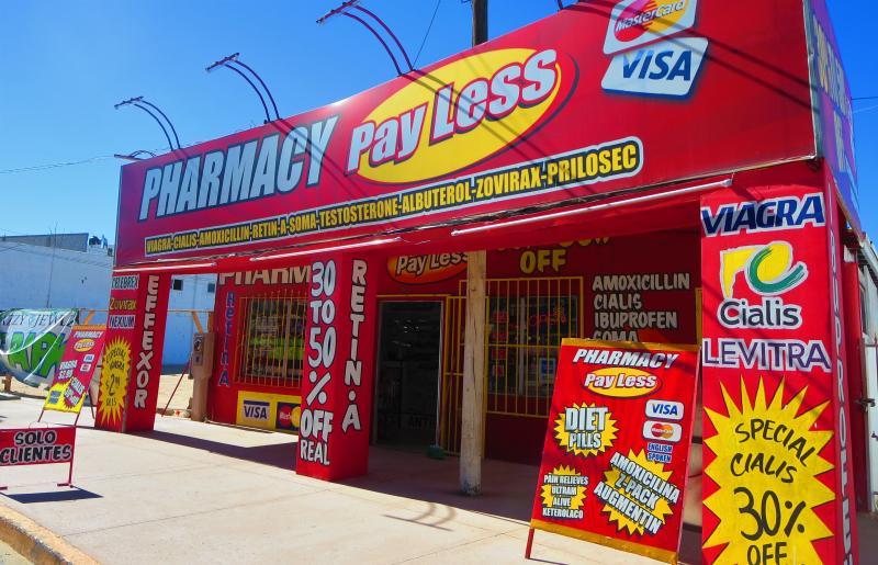 Lotsa farmacias