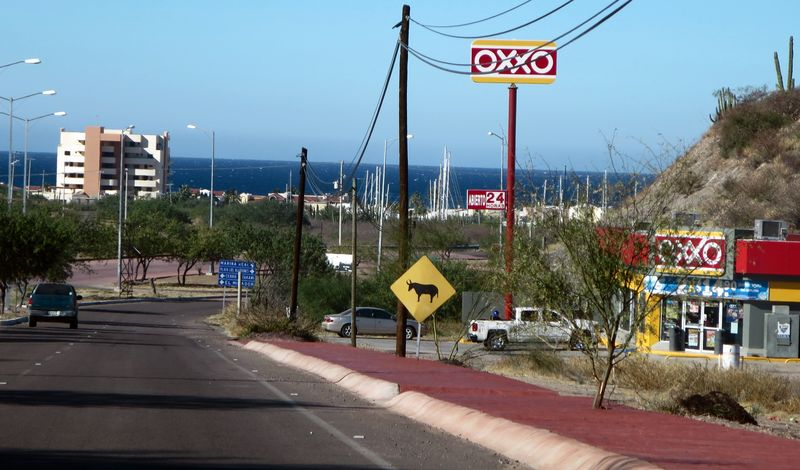 The new OXXO on the way to the beach