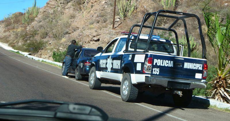 Lotsa cops out today