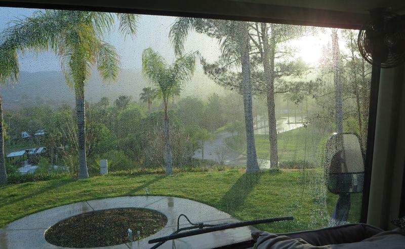 Finally some rain