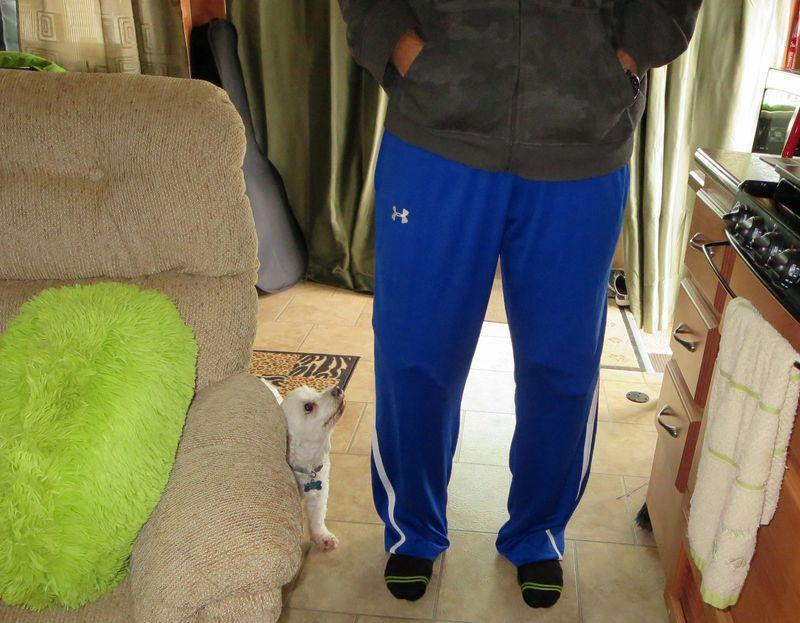 New pantalones