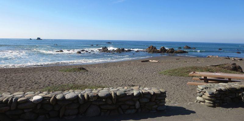 Sweet little beach