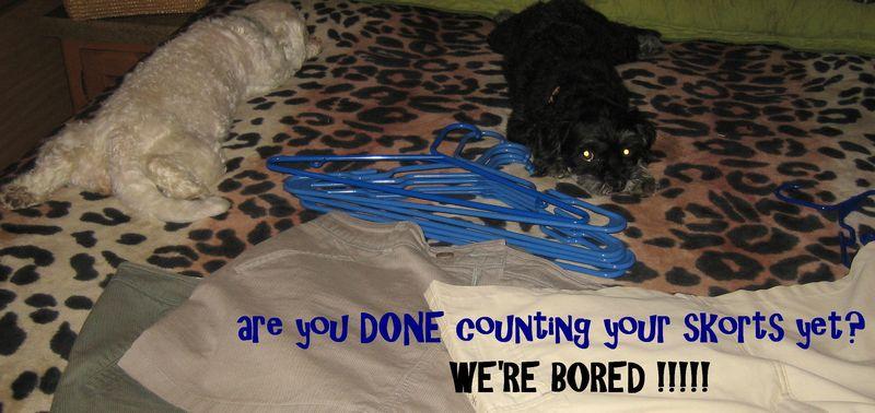 WE'RE BORED!