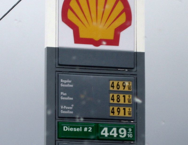 Gas price in Cali