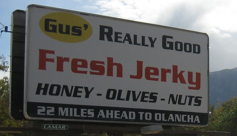 Fresh jerky