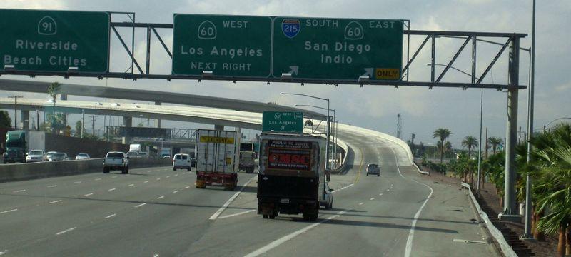 San Diego turn off
