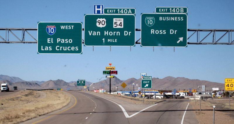 Left to El Paso