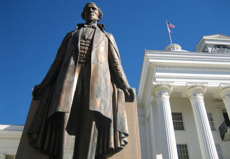 US prez Jefferson Davis