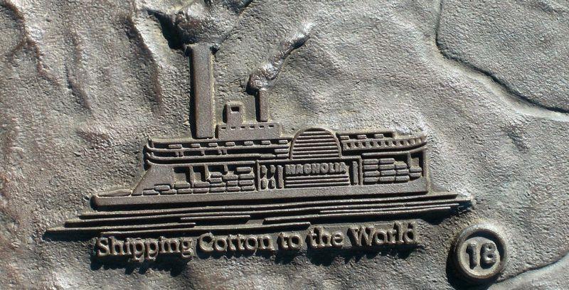 Steamboats shipping 'Bama cotton