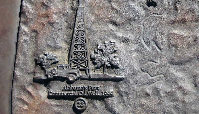 Bama's first commercial oil well was drilled in 1944