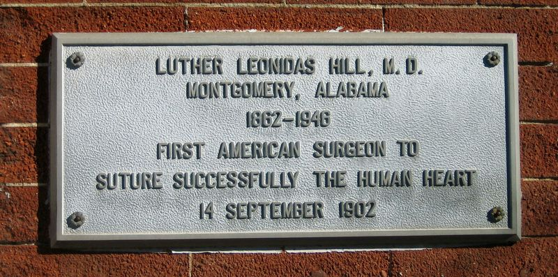 This building housed the office of a ground breaking American surgeon