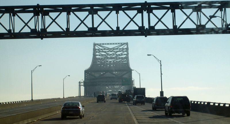 Bridge over one of many waterways