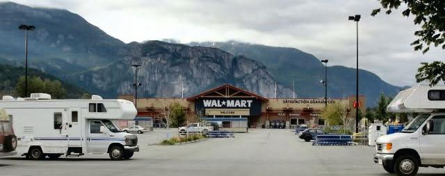 Camp Walmart