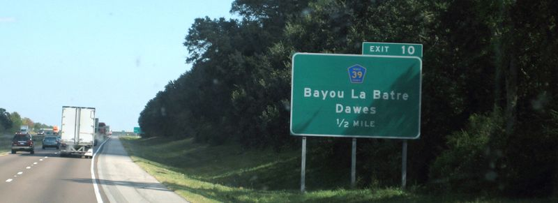 Another Bayou sign