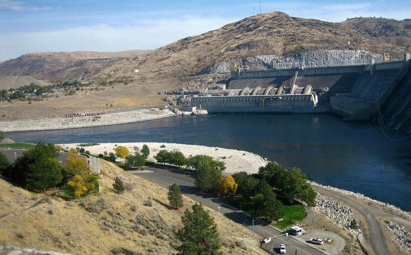 Overlooking the Dam security