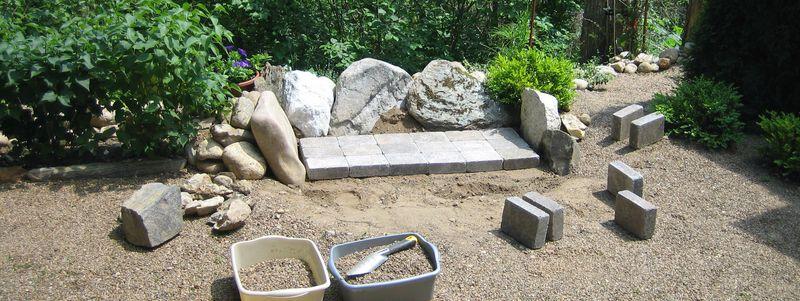 Rock wall row three