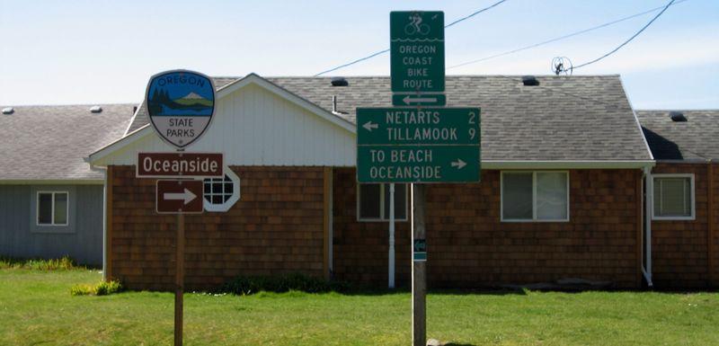 Coastline signs