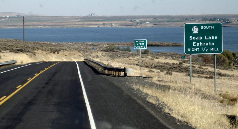 Entering Grant County