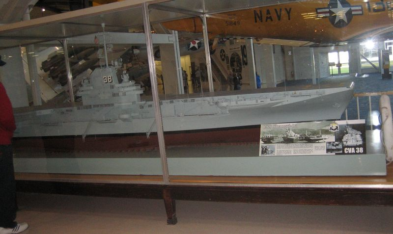 Model of the USS Shangri-la