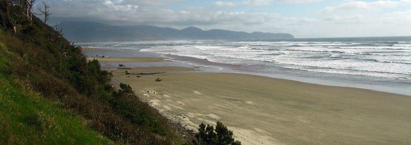 Wild coastline
