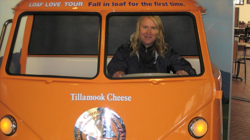Tillamook cheese car