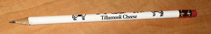 Cheese pencil from Tillamook