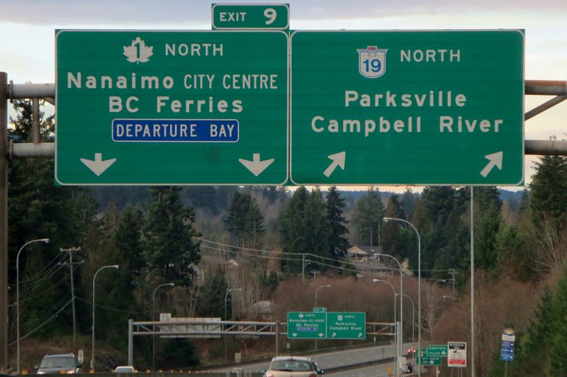 Nanaimo signs
