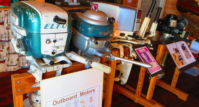 Old school outboard motors