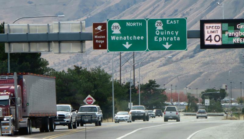 Wenatchee signs
