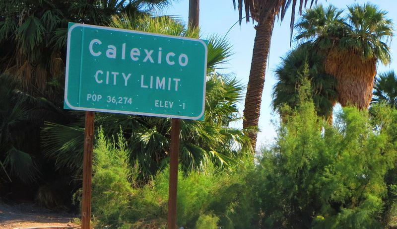 Calexico sign
