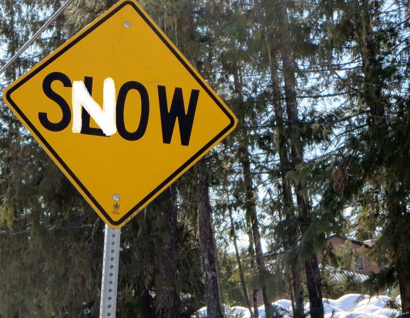 Snow not slow