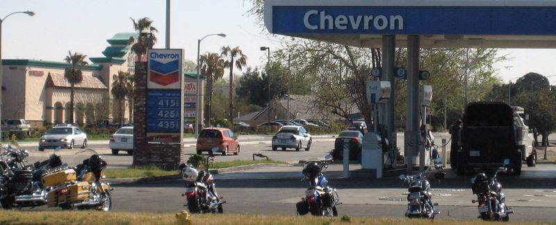 4.15 at Chevron