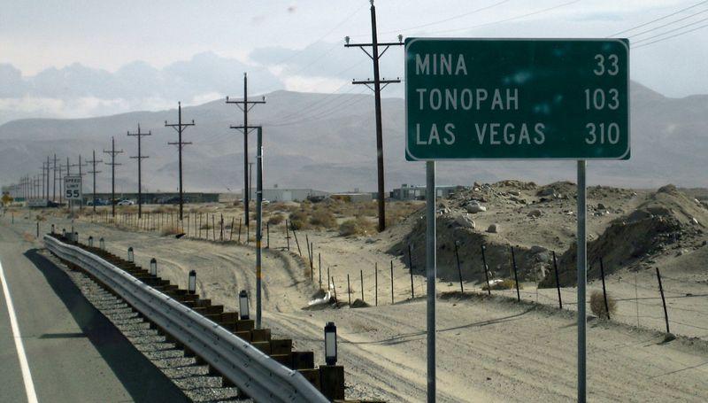 310 miles to Vegas