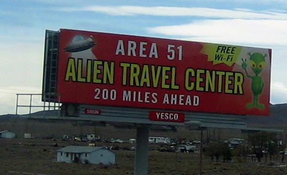 Alien Travel Center