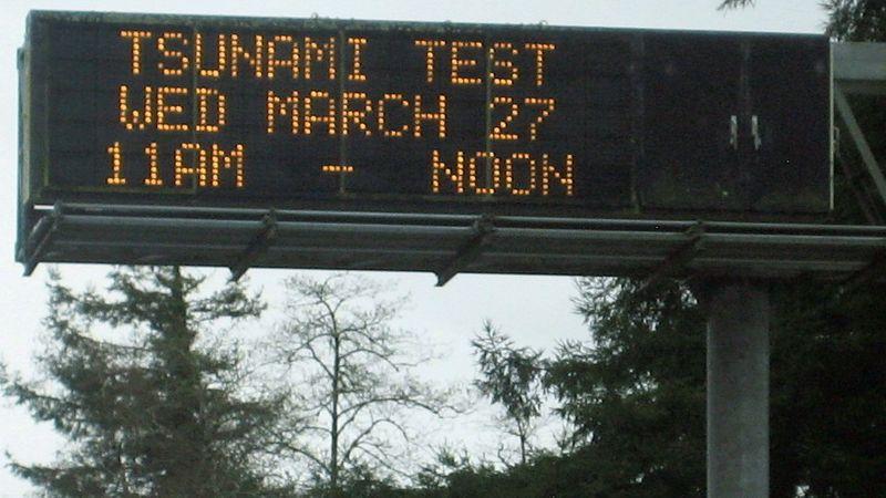 Tsunami test