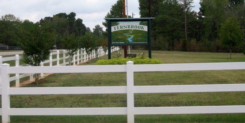 Fernbrook RV park just off Interstate 20