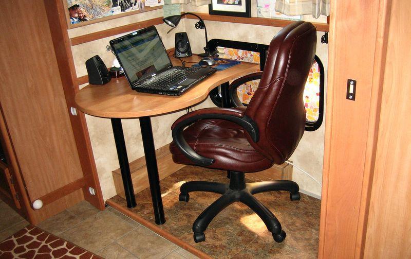 Pint sized office desk