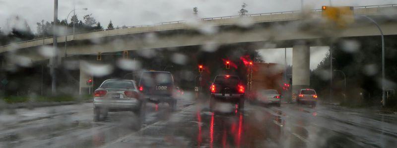 Soggy highway