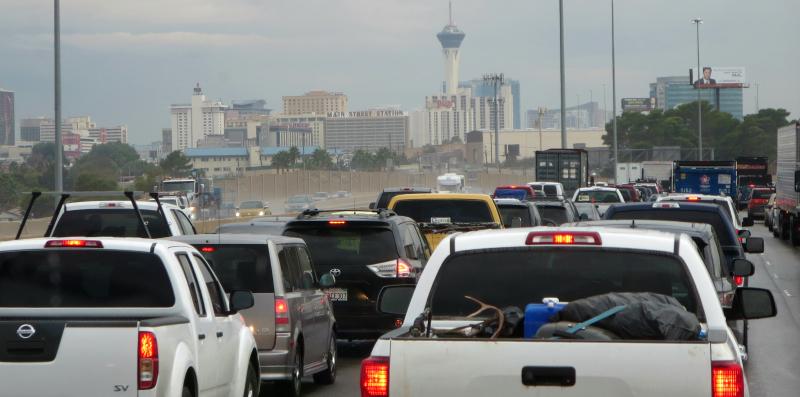 Cloudy in Vegas