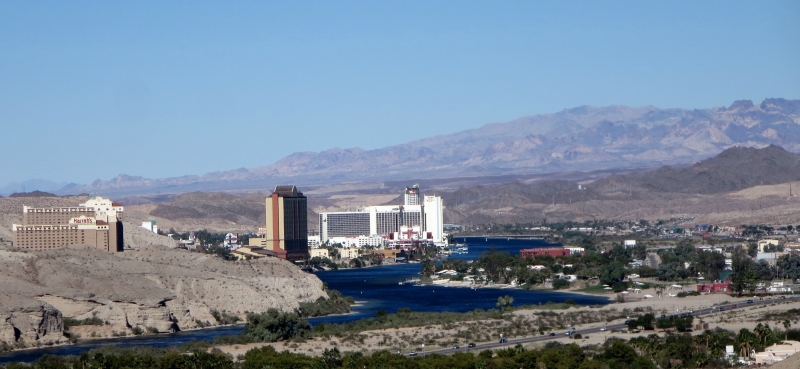 View to Laughlin, NV