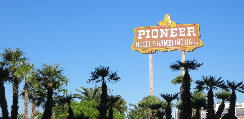 Pioneer sign