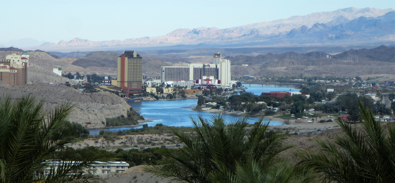 Laughlin across the river