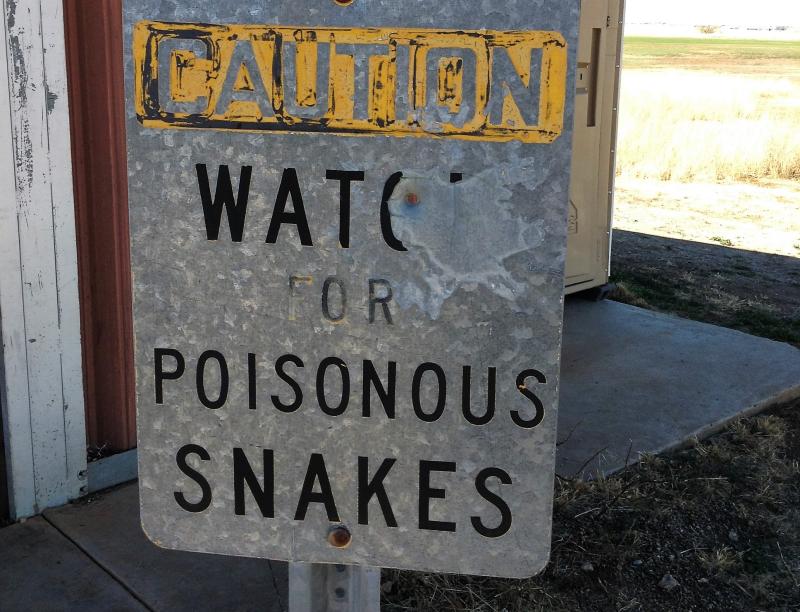 Snake sign